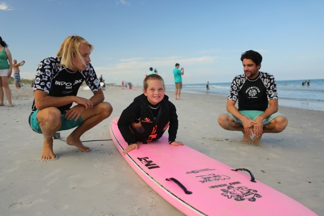 Surf Camp Helps Special Needs Kids Build Confidence